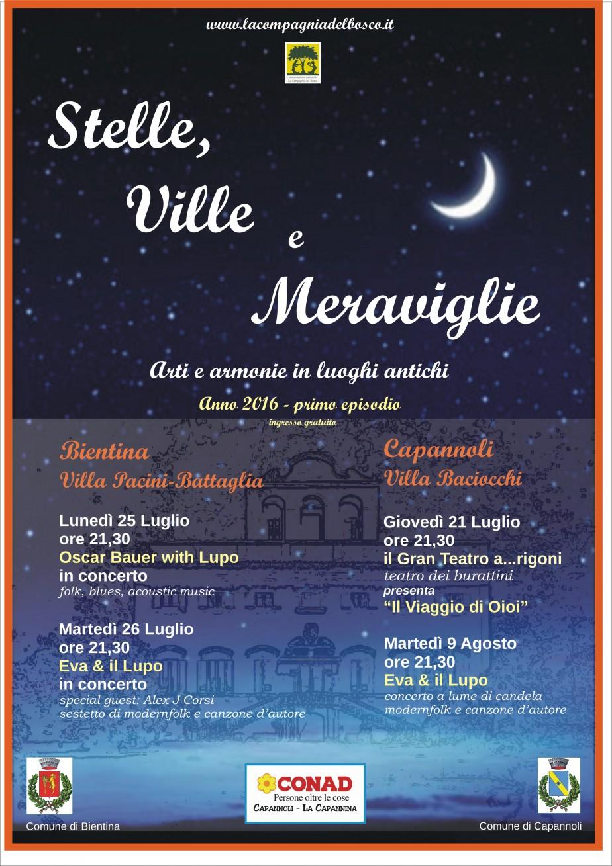 Stelle, Ville e Meraviglie - poster