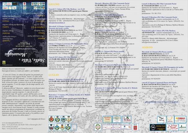 Stelle, Ville e Meraviglie - RETRO poster 2017 bozza